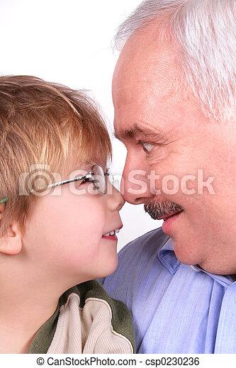 私, 祖父 - csp0230236