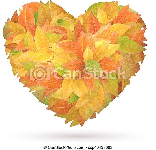秋季, 心, 离开 - csp40493083