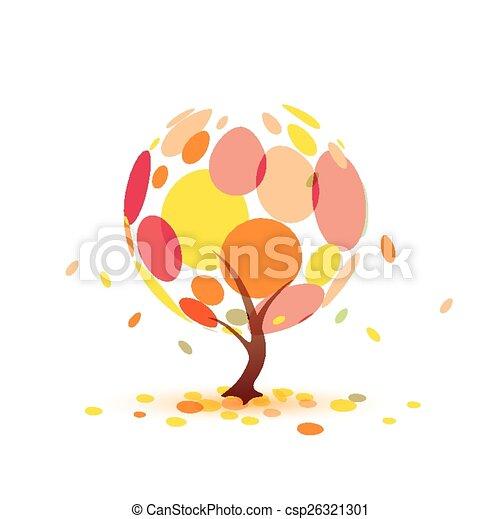 秋季, 树 - csp26321301