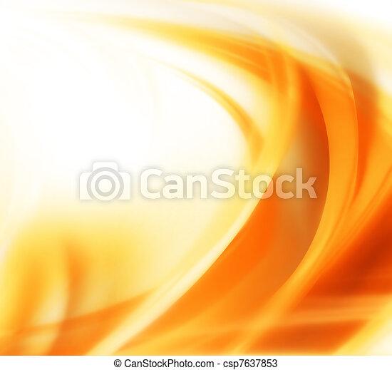 秋, 抽象的, 背景 - csp7637853