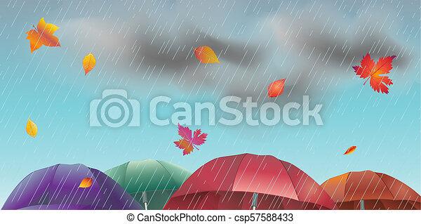 秋 雨 風景 日 イラスト 水彩画 雨 空 壁紙 雲 イラスト 葉 低下 秋 雨墜落 風景 日 かえで