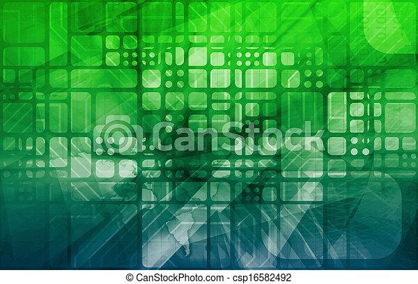 科学, デジタル - csp16582492