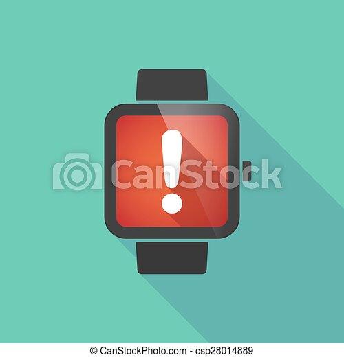 称賛, 腕時計, 痛みなさい, 印 - csp28014889