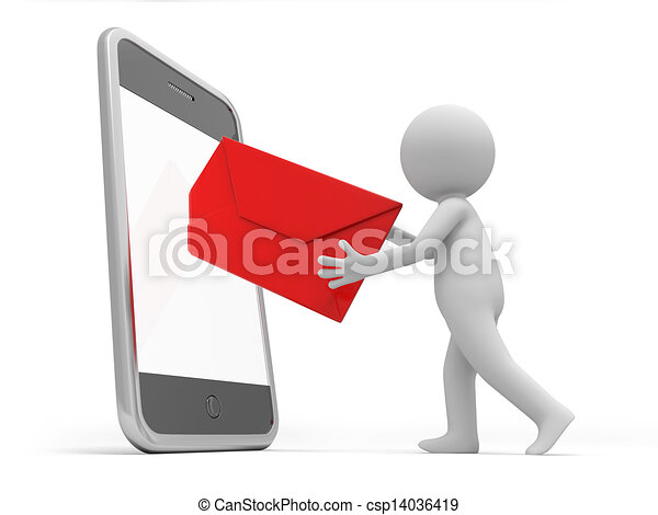 移動式 電話 - csp14036419