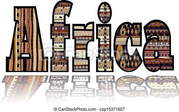 種族, 要素, アフリカ - csp15371607