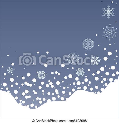 イラスト イブ 積雪量 クリスマス