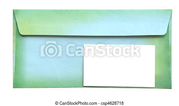 空, カード, 封筒 - csp4628718