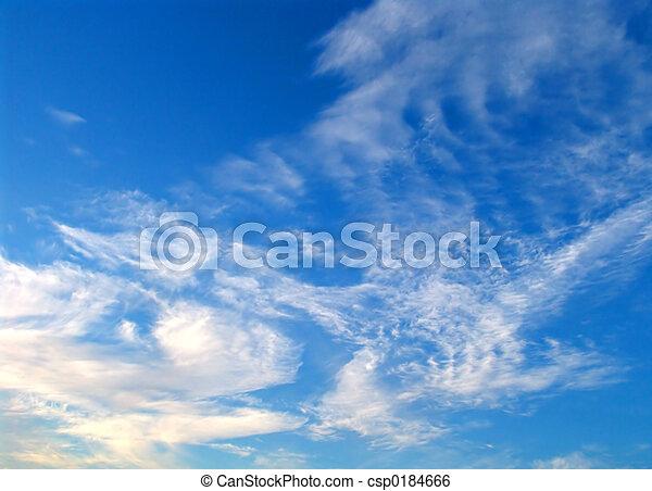 空, 冬 - csp0184666