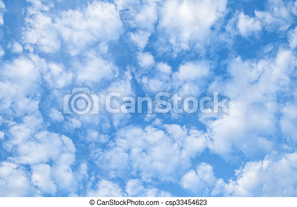 空, 曇り - csp33454623