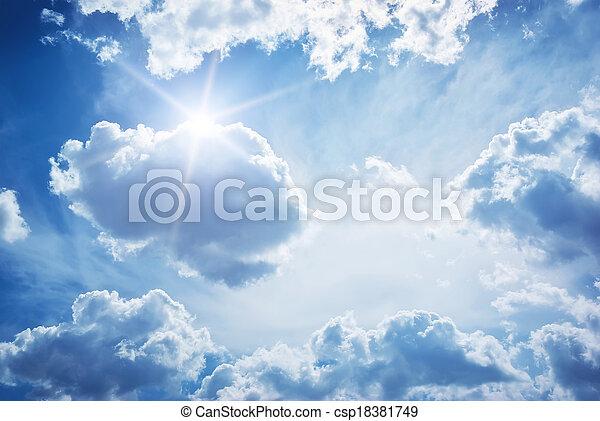 空, 雲 - csp18381749