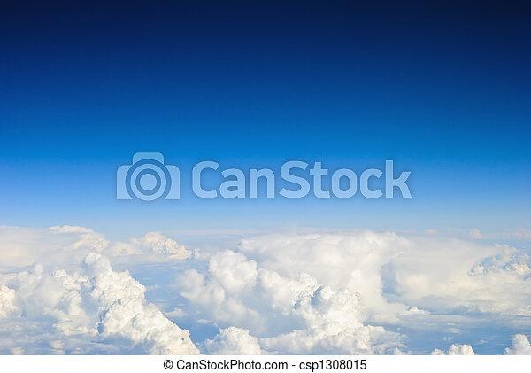 空, 雲, 背景 - csp1308015