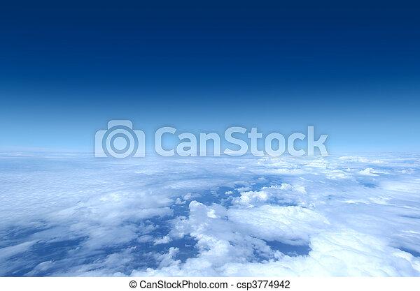 空, 飛行機, -, 打撃, コレクション - csp3774942