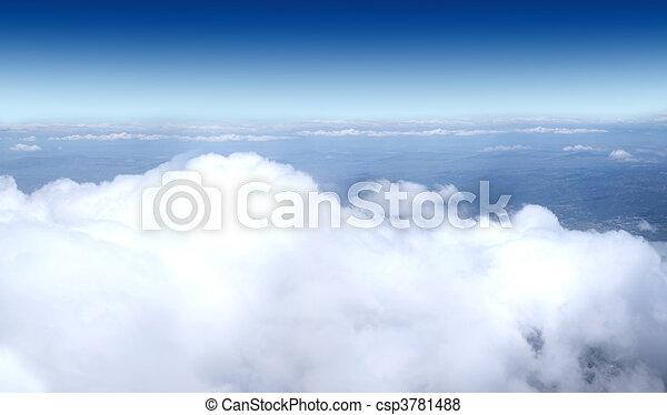 空, 飛行機, -, 打撃, コレクション - csp3781488