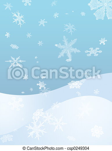 突風, 雪 - csp0249304