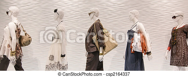 窓, ファッション, マネキン - csp2164337