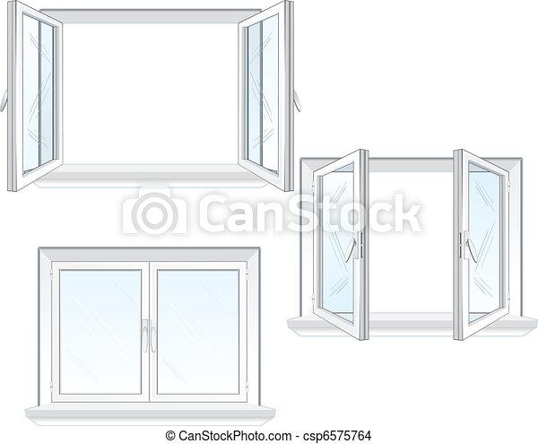 窓, プラスチック - csp6575764