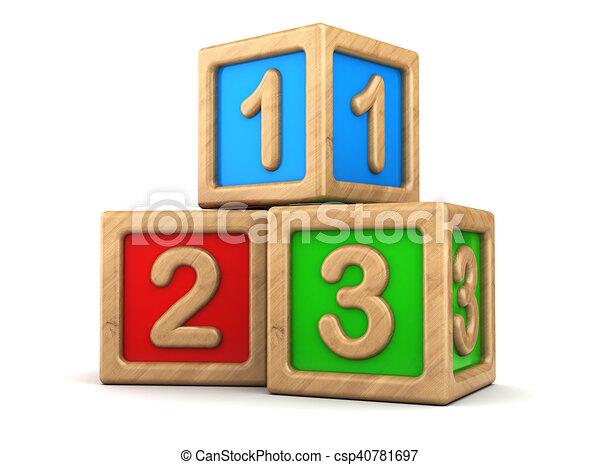 立方体, おもちゃ - csp40781697