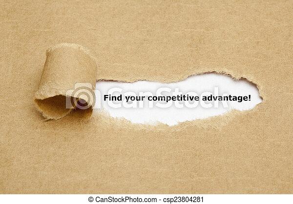 競争, ファインド, 利点, あなたの - csp23804281