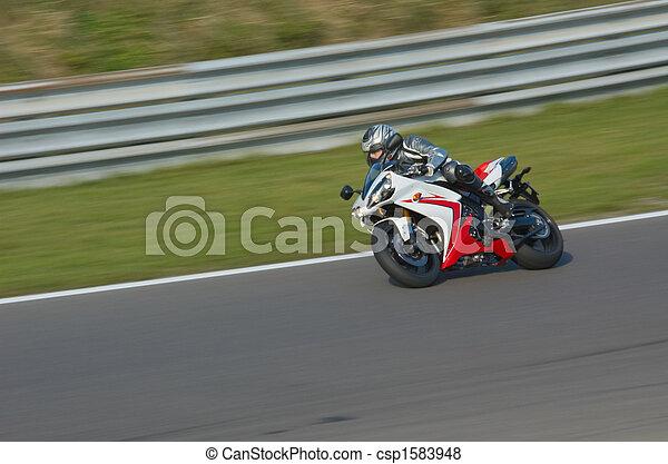競争, モーターバイク - csp1583948
