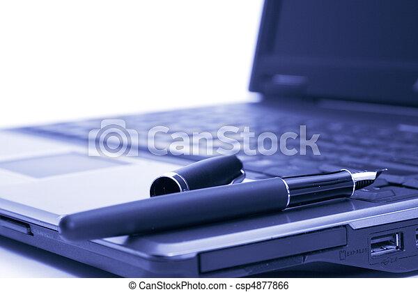 笔记本电脑, 泉源钢笔