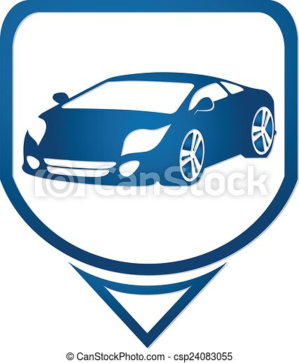 符号, 汽车, 快, 图标素材插图