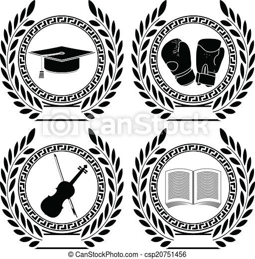 符號, 集合, 成就 - csp20751456