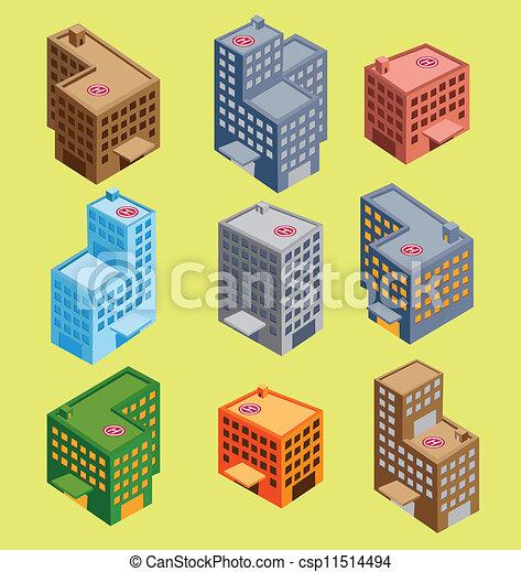 等大, 建物 - csp11514494