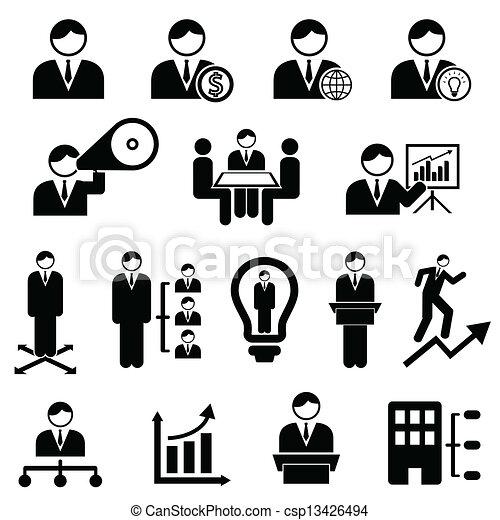 管理, ビジネス - csp13426494