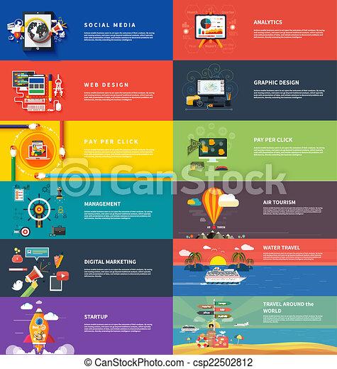 管理, マーケティング, srartup, 計画, デジタル, seo - csp22502812