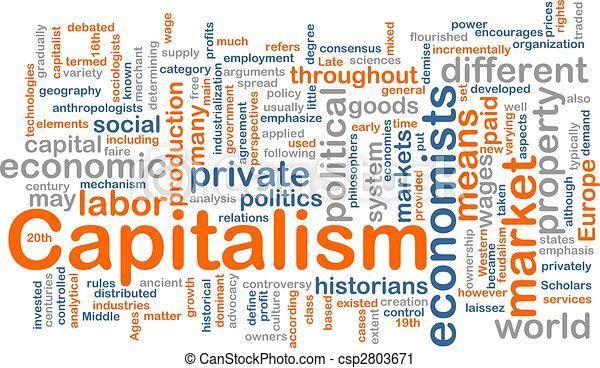 管理, 単語, 雲, 資本主義 - csp2803671