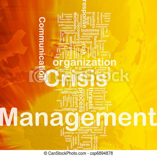 管理, 概念, 危機, 背景 - csp6894878
