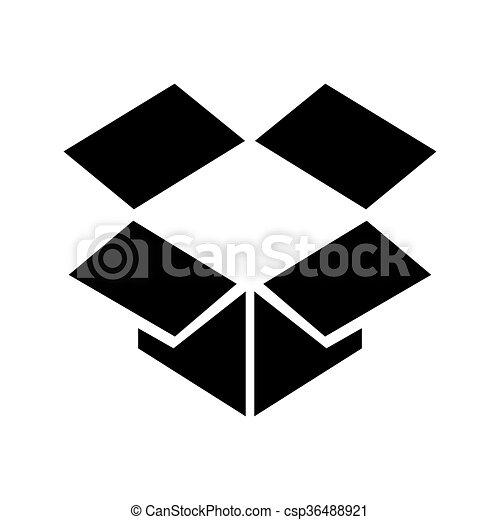 箱, ベクトル - csp36488921