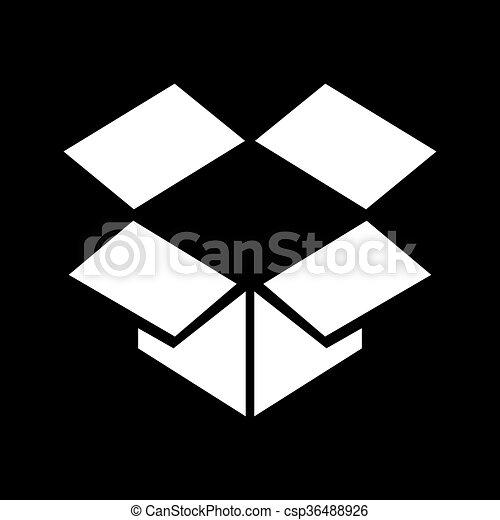 箱, ベクトル - csp36488926