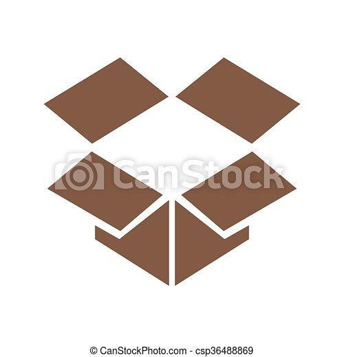 箱, ベクトル - csp36488869