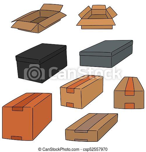 箱, ベクトル, セット - csp52557970