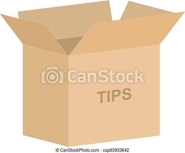箱, ベクトル, チップをやる - csp63933642