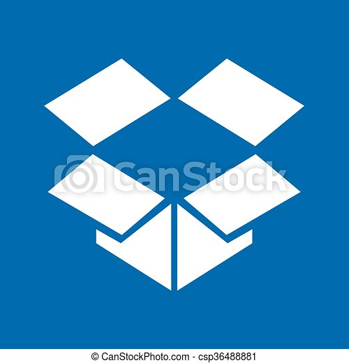 箱, ベクトル - csp36488881