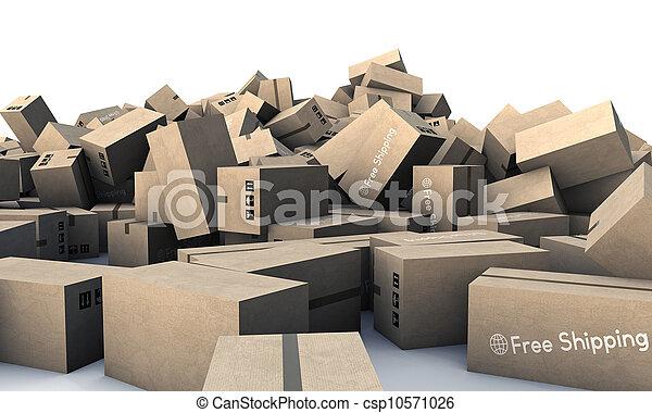 箱, ボール紙 - csp10571026