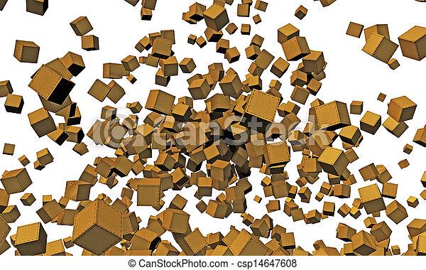 箱, ボール紙 - csp14647608