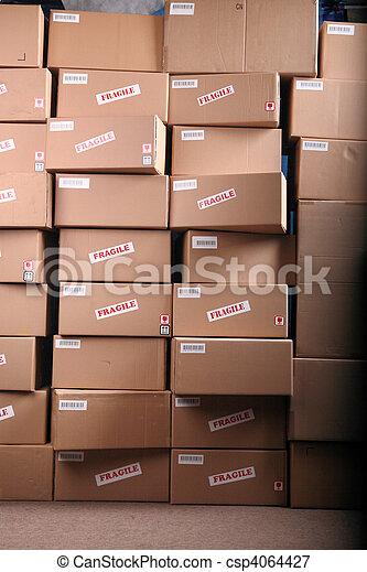 箱, ボール紙 - csp4064427