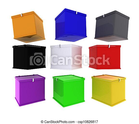 箱, 空 - csp10826817