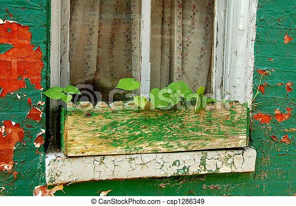 箱, 窓 - csp1286349