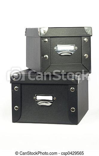箱, 貯蔵 - csp0429565