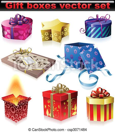 箱, 贈り物 - csp3071484