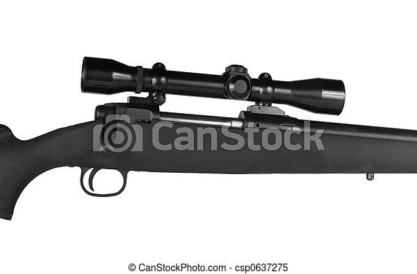 範囲, ライフル銃 - csp0637275