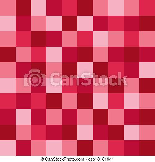 粉紅色, 圖案, 馬賽克 - csp18181941