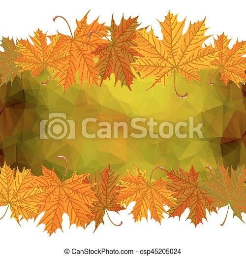 紅葉 背景 三角形 葉 イラスト 秋 背景 かえで
