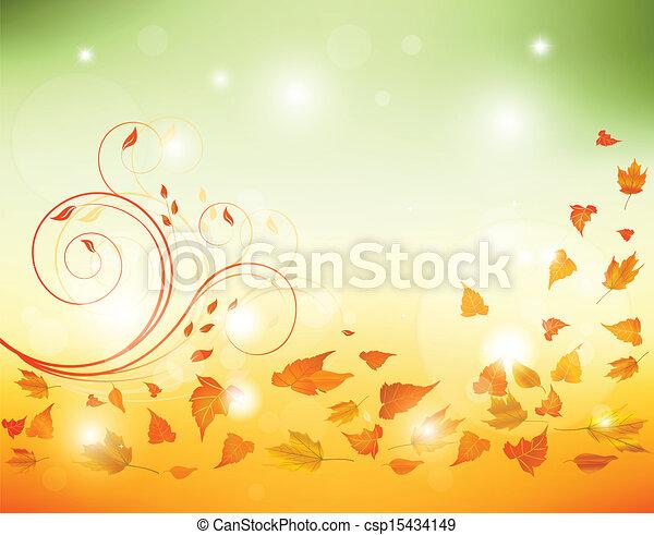 紅葉, 背景 - csp15434149