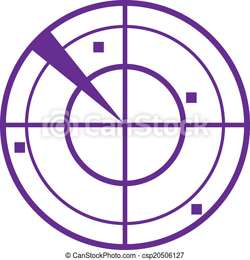 紫色, レーダー - csp20506127