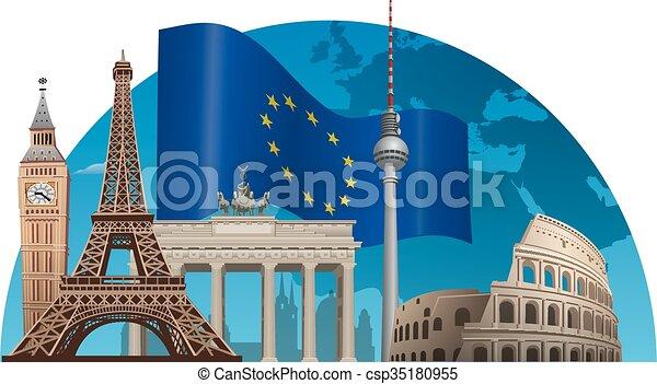 組合, ヨーロッパ - csp35180955